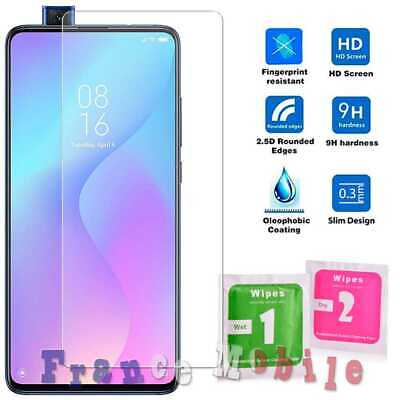Flat Tempered Glass 2.5D 9H Screen Protector Cover for Xiaomi Mi 9T 0.3 Clear