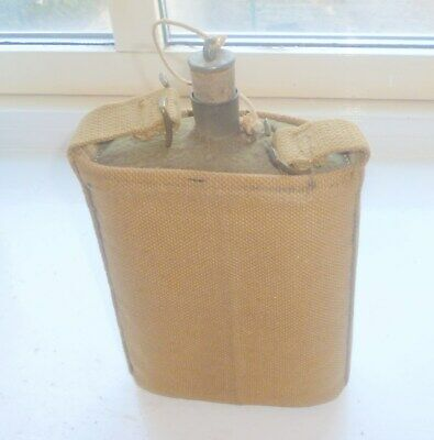 Ww1 Ww2 Army Water Canteen Flask/Bottle   No Reserve