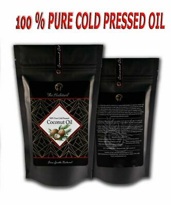 Extra Virgin Coconut Oil, Organic, Pure, Raw for Cooking 50g - 500g Cold Pressed