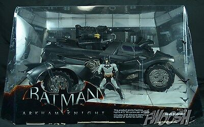 Exclusive Mattel Arkham Knight Batman Batmobile New Sdcc 2014 Comic with Rare