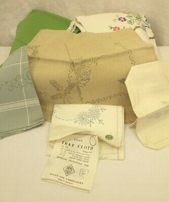 Job Lot of Pre-Printed Craft Items- Ready for Embroidery  C-9242-MY-W37