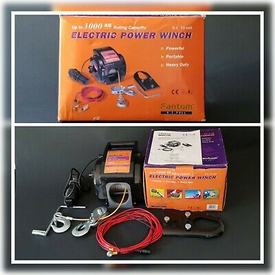 Tragbare Seilwinde  Portable Electric Power Winch #0083