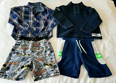 Boys Small Clothes Bundle Age 7 Yrs, Next, H&M, Cherokee, Shirt/Shorts/Pullover