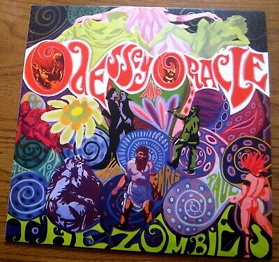 The Zombies, Odessey and Oracle (2019 Demon Records) Yellow Vinyl from Box Set