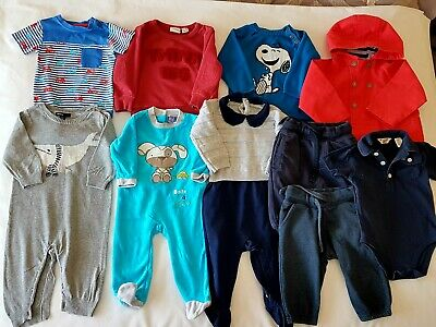 Baby Boys Clothes Bundle Age 6-9 Months, H&M/Zara/Original Penguin/Gap/Next Etc