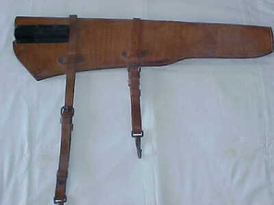 WW2 Dated 1942  U.S. Boyt  M-1 Garand Leather Rifle Scabbard