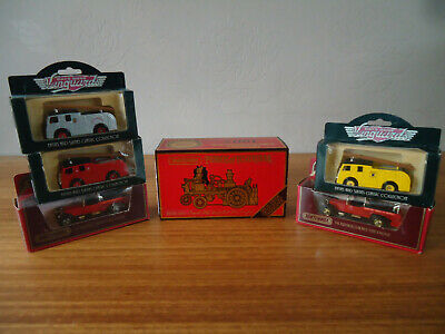 job lot vanguard days gone matchbox models of yesteryear fire engines boxed