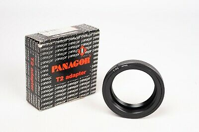Panagor T2 mount adapter ring- T2 to M-42