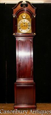 Antique Grandfather Clock - Mahogany Maple and Co Circa 1890