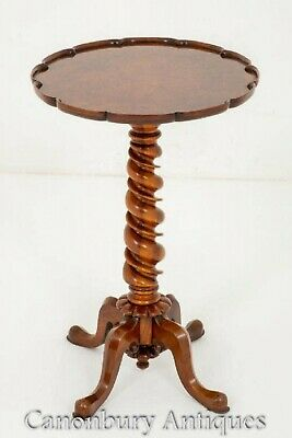 Victorian Walnut Side Table - Antique 1860