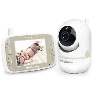 Hello Baby-Us Hb65 Baby Monitor With Remote Pan-Tilt Digital Zoom Camera And 3.2