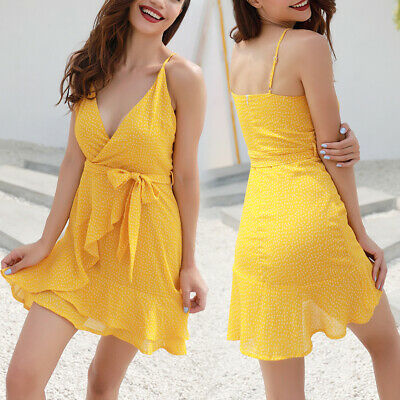 Fashion Sexy V Neck Summer Dress for Shopping Travel Party Special Occasion Date