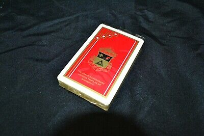 Vintage SEALED Brown & Bigelow Playing Cards Gold seal Knights Templar Mint
