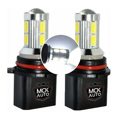 Pair P13W 43x High Power Canbus LED 10W DRL Bulbs 12V 13W For Mazda CX-5 13-On