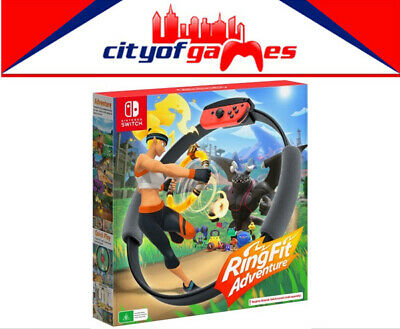 Ring Fit Adventure Nintendo Switch Game Brand New Back Order