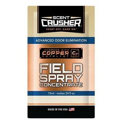 Scent Crusher 59309 Field Spray 2 oz Concentrate Scent Eliminator