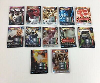BBC Doctor Who Battles In Time Ultimate Monsters 12 Rare Trading Cards Bundle