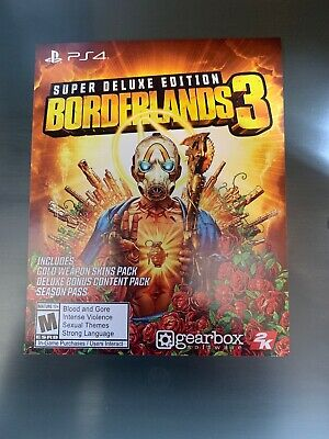 Borderlands 3 Super Deluxe DLC season pass PS4 Instant message