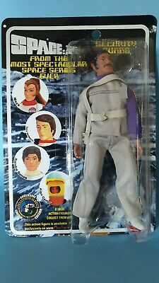 "Happy Space 1999 Day  Figures Toy company - 8"" Mego Retro Security Guard carded"