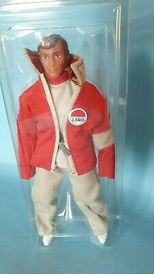 "Happy Space 1999 Day - 8"" Mego Retro Alan Carter red jacket Unopened in clamshel"