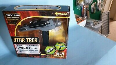 Art Asylum Star Trek original series Phaser 2in1 design boxed/opened