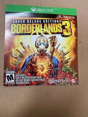 Borderlands 3 Super Deluxe DLC Season Pass Instant message