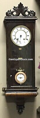 Lenzkirch Wall Clock Once Owned By The Bishop Of Bamberg Germany