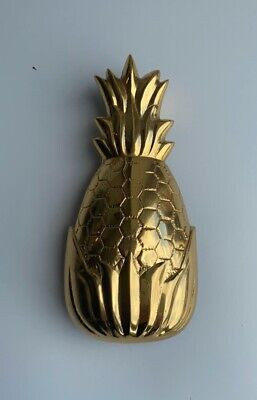 Solid Brass Pineapple Door Knocker