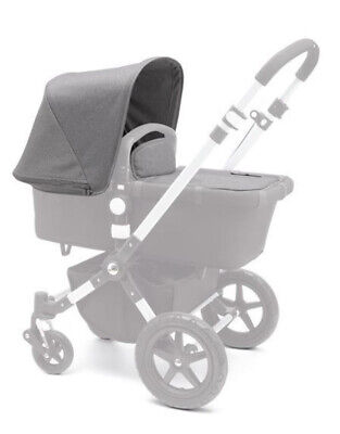 Gray Canopy Sun Shade Cover Wires for Bugaboo Cameleon 1 2 3 Frog Baby Strollers