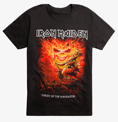 Iron Maiden GHOST OF THE NAVIGATOR T-Shirt NEW Licensed & Official