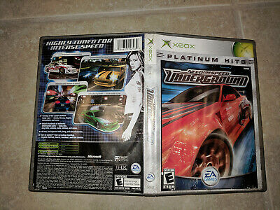 Need for Speed: Underground (Microsoft Xbox, 2003)