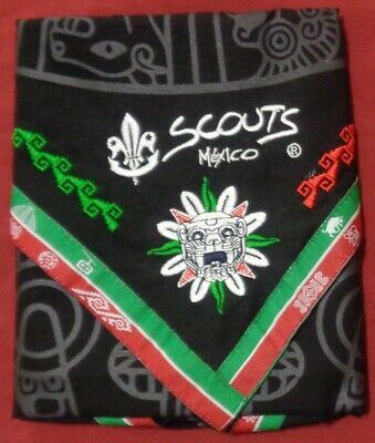 24th World Boy Scout Jamboree 2019 Mexico Contingent Scarf