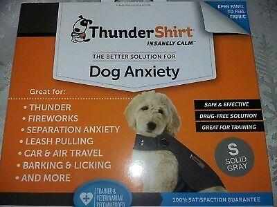 New Thundershirt small keep your dogs calm . Excellent value