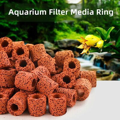 Ceramic Rings Bio in Media Bags for Aquarium Canister Filter Ring Clean