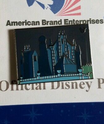 Disney Pin WDW 2019 Hidden Mickey Stylized Attractions Haunted Mansion Traded