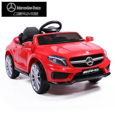 Kids 6V Electric RC Ride On Car Mercedes-Benz Remote & MP3 RED Licensed