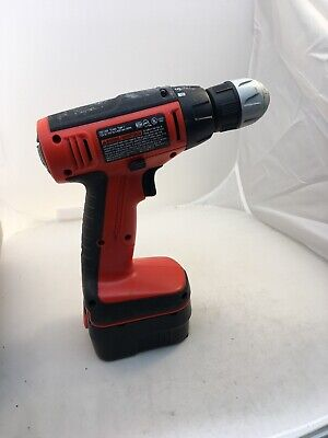 BLACK & DECKER 12V Dril CDC 1200 Type 1 w/ One Battery no charger