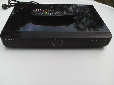HUMAX HDR-7500T 500GB TwinTuner Hard Disk Recorder with Remote Control