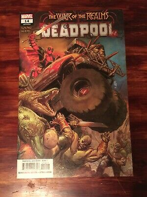 Deadpool 14 Secret Carnage Variant 2019 Marvel Comics NM War Of The Realms Hot!!