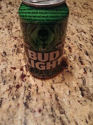 Bud Light Area 51 Green Alien Can LIMITED EDITION CAN BRAND NEW Storm Area 51