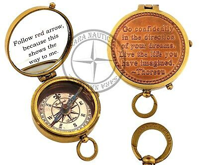 Marine Brass Compass~Vintage Dollond London Pocket Compass Collectibles