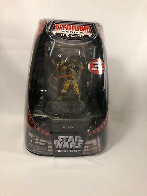 Star Wars Titanium Die Cast Bossk Bounty Hunter Micro Machines Galoob Hasbro