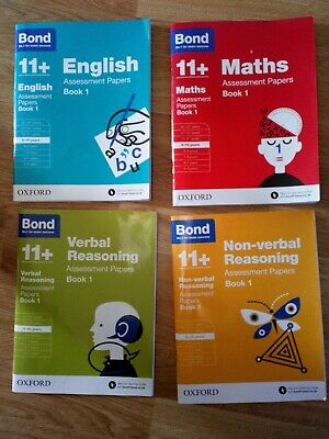 Bond 11 plus  books 9-10 years  assessment papers