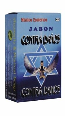 Jabon Esoterico Contra Daños 100 gr. Esoteric Soap  -  Witchcrafts, Witches