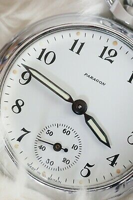Rebuilt Ingersoll Pocket Watch with Rare Paragon Dial