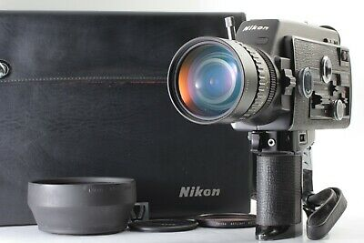 【NEAR MINT】 NIKON R10 SUPER 8mm Movie Camera NIKKOR 7-70mm f1.4 from Japan 317