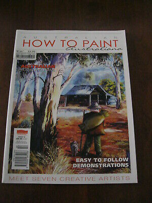 Australian How to Paint Australiana: Homes & Farms: Issue 10 : Preloved