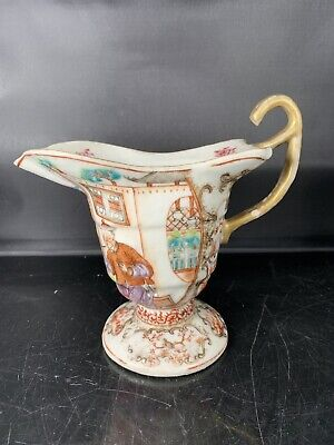 Rare Antique Chinese Cantonese Families Rose Cup 18th Century