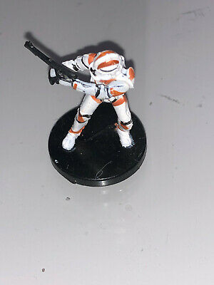 Star Wars Miniatures Revenge of the Sith CLONE TROOPER #8