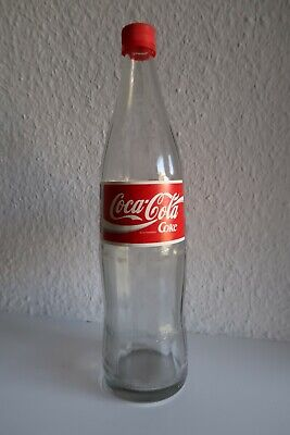 Alte 1 Liter Coca Cola Glasflasche XXL Version 1994 World Cup USA